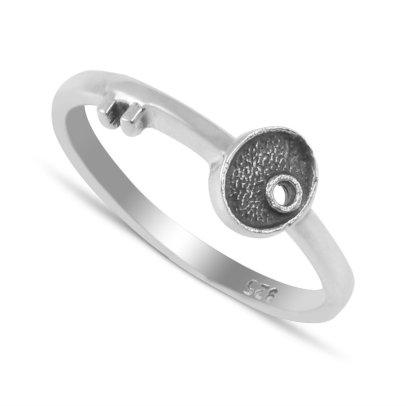 Key (to success) Ring in Sterling Silver