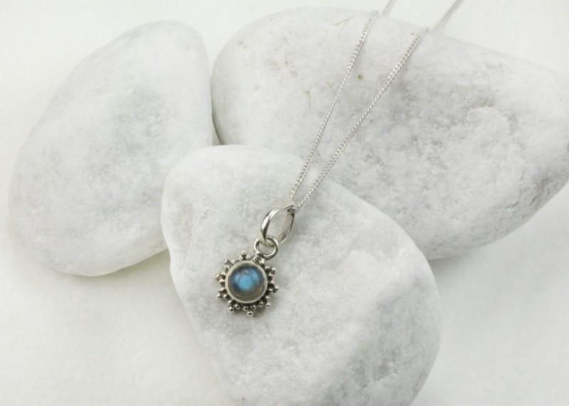 Labradorite Star Motif Jewellery set in 925 Sterling Silver 3