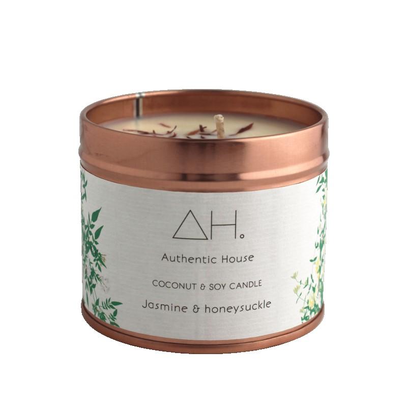 Large jasmine & honeysuckle candle 3