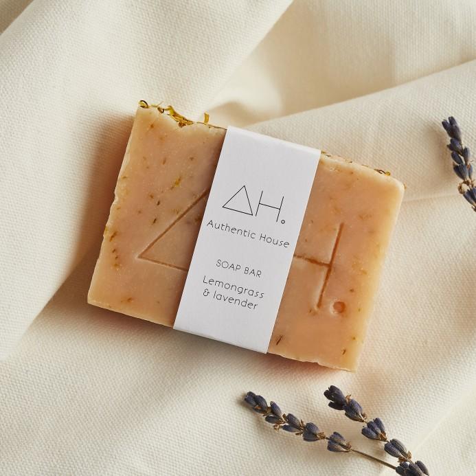 Lemongrass & lavender soap