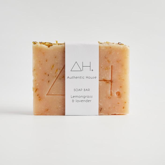 Lemongrass & lavender soap 2