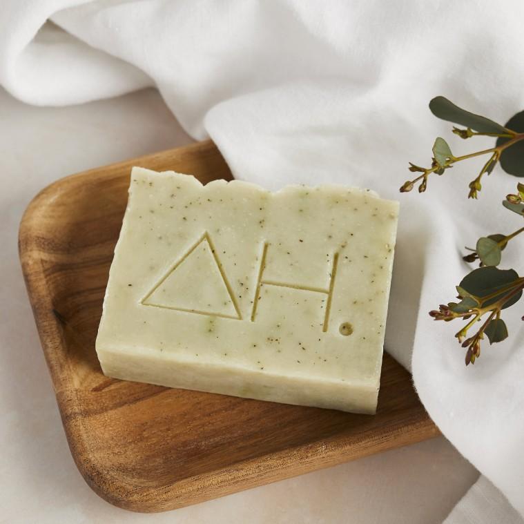 Lime & green tea soap 2