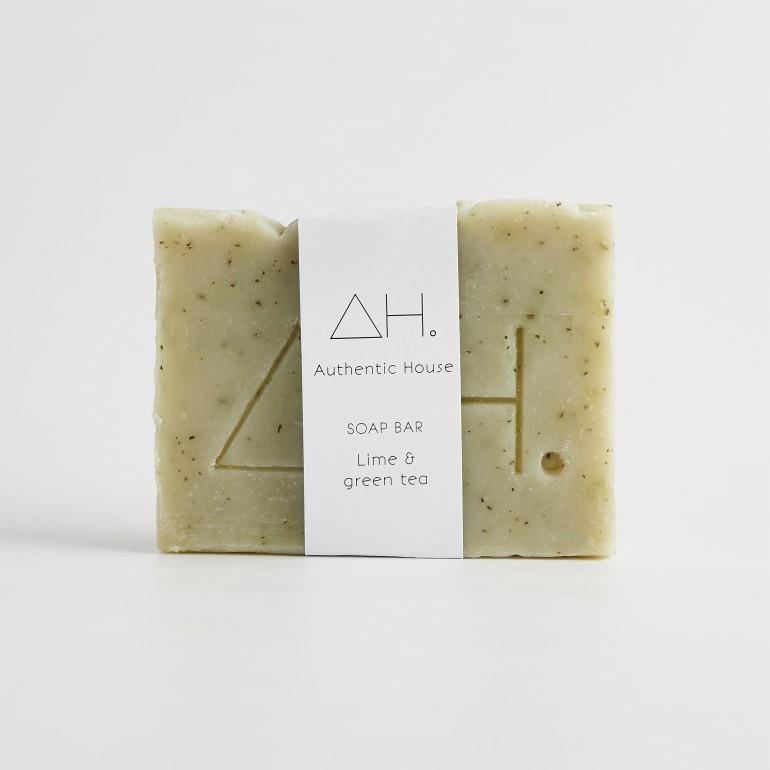 Lime & green tea soap 3