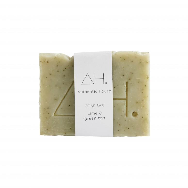 Lime & green tea soap 4