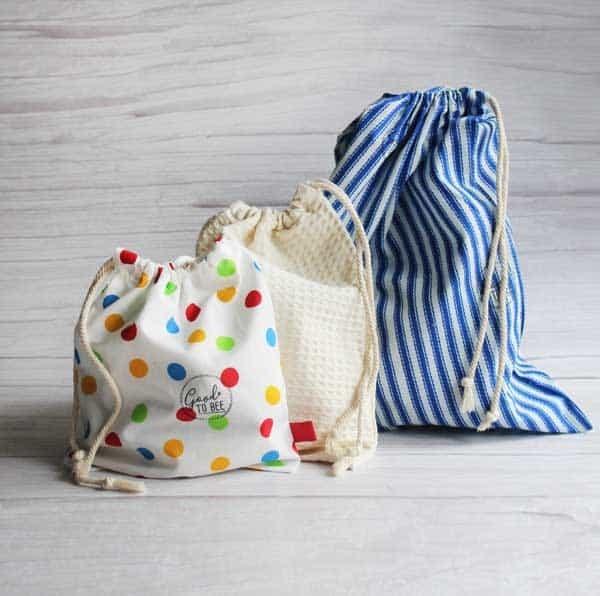Drawstring Market Bags
