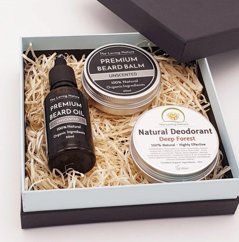 Men's Gift Set in Premium Eco-Friendly Box