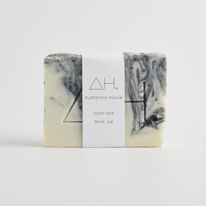 Mint ice soap 2