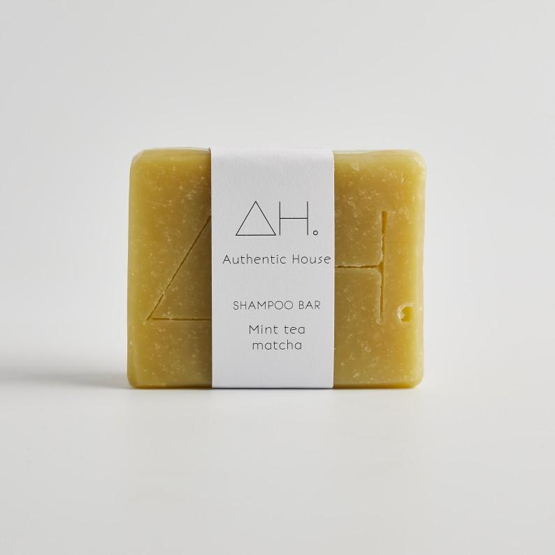 Mint tea matcha shampoo bar 2