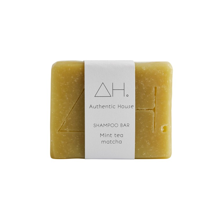 Mint tea matcha shampoo bar 3