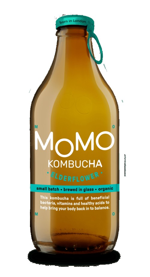 MoMo Elderflower Kombucha