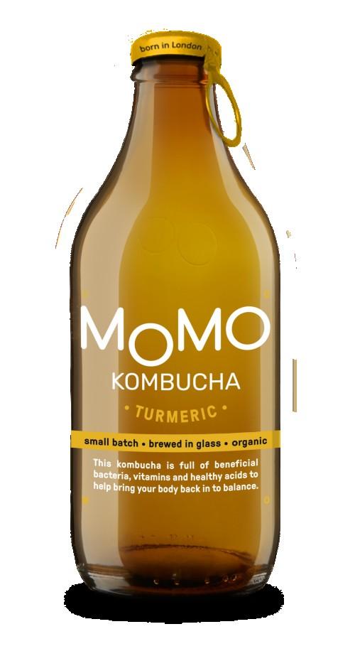 MoMo Tumeric Kombucha