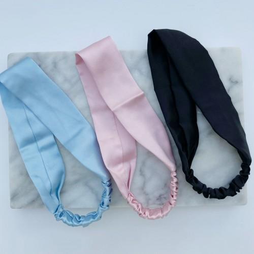 Mulberry Silk Headbands, Pure Silk Headbands