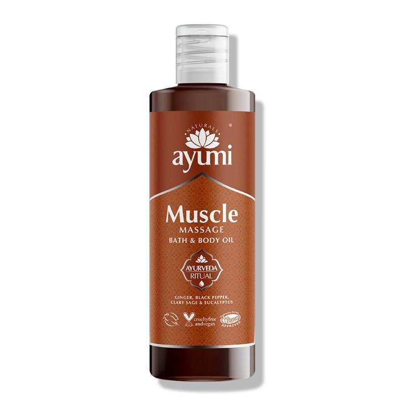 Muscle Massage Bath & Body Oil 250ml 2