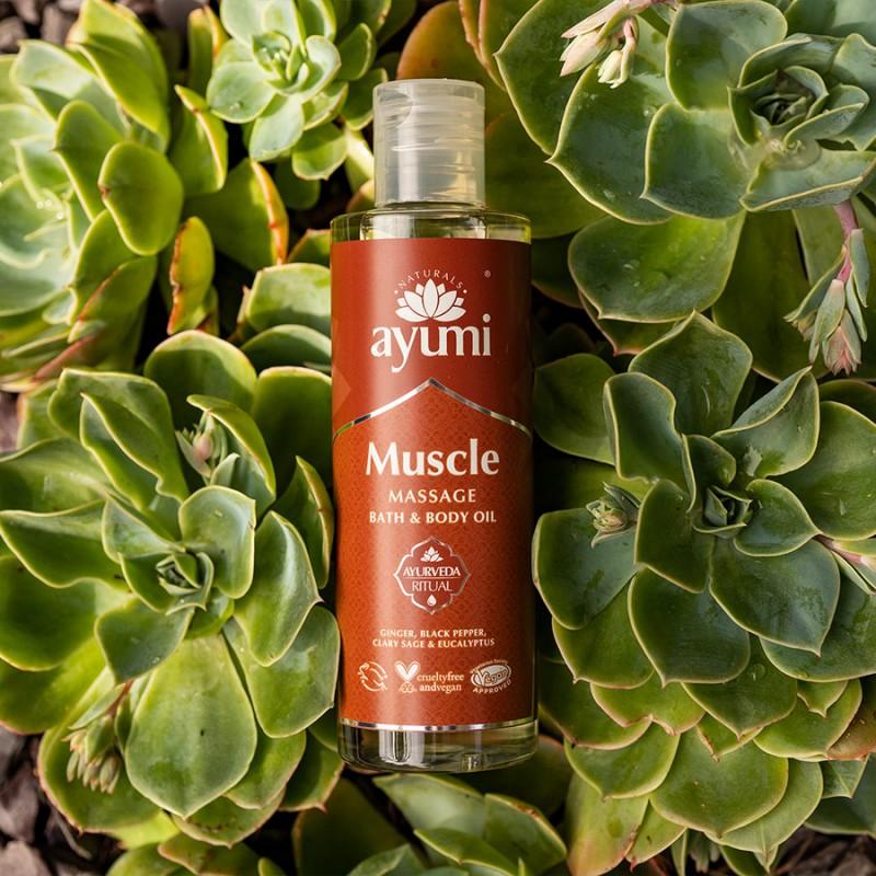 Muscle Massage Bath & Body Oil 250ml 4