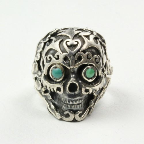 Mystic Sea Ring with Turquoise in Sterling Silver
