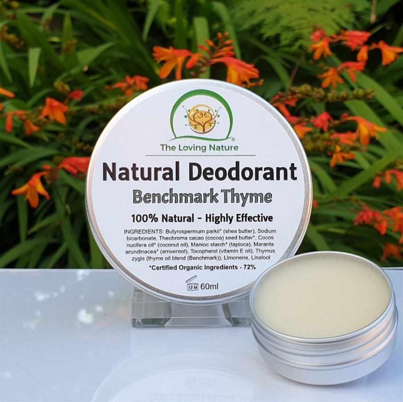Natural Deodorant BenchmarkThyme - 60ml