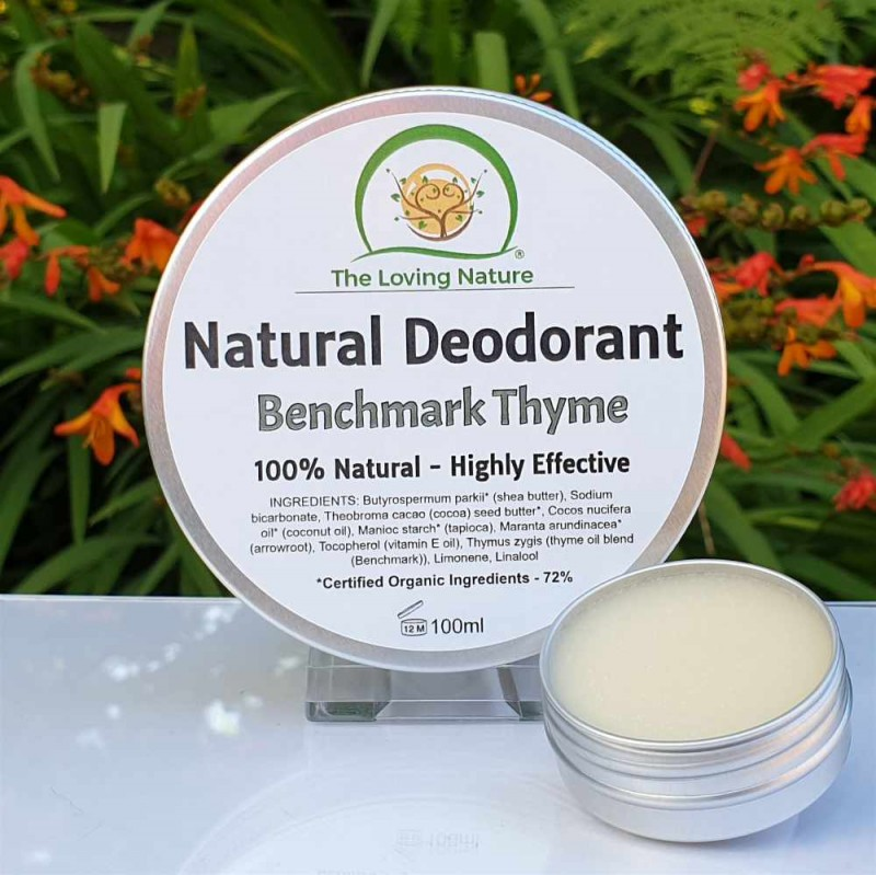 Natural Deodorant BenchmarkThyme