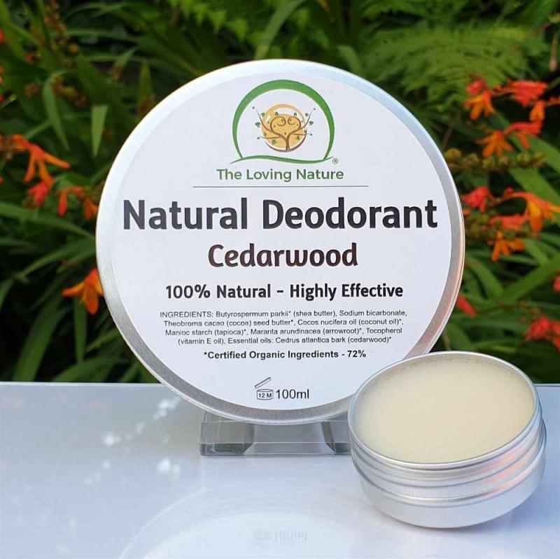 Natural Deodorant Cedarwood