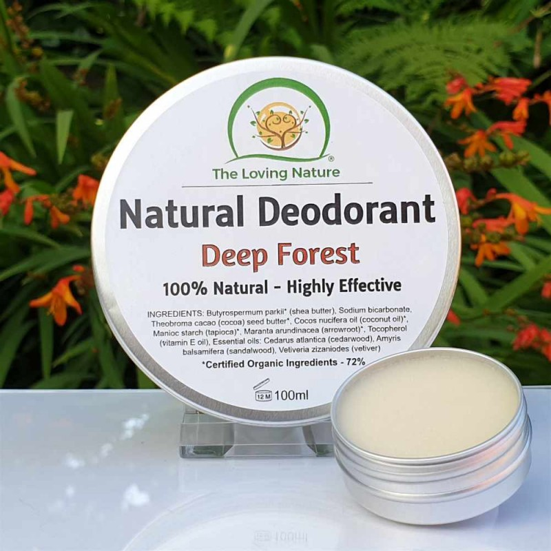 Natural Deodorant Deep Forest