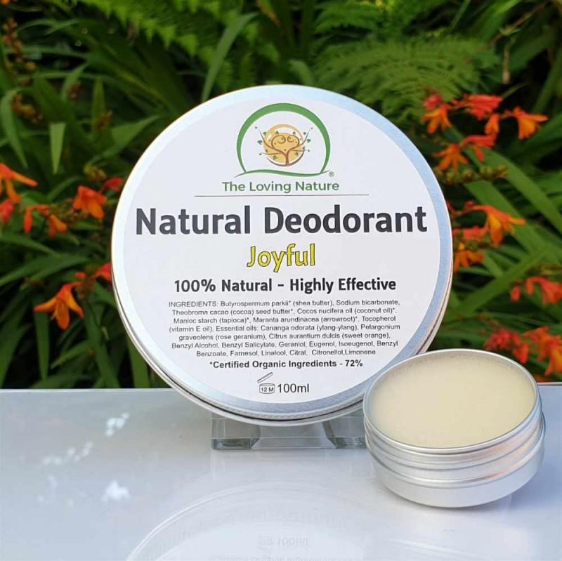 Natural Deodorant Joyful