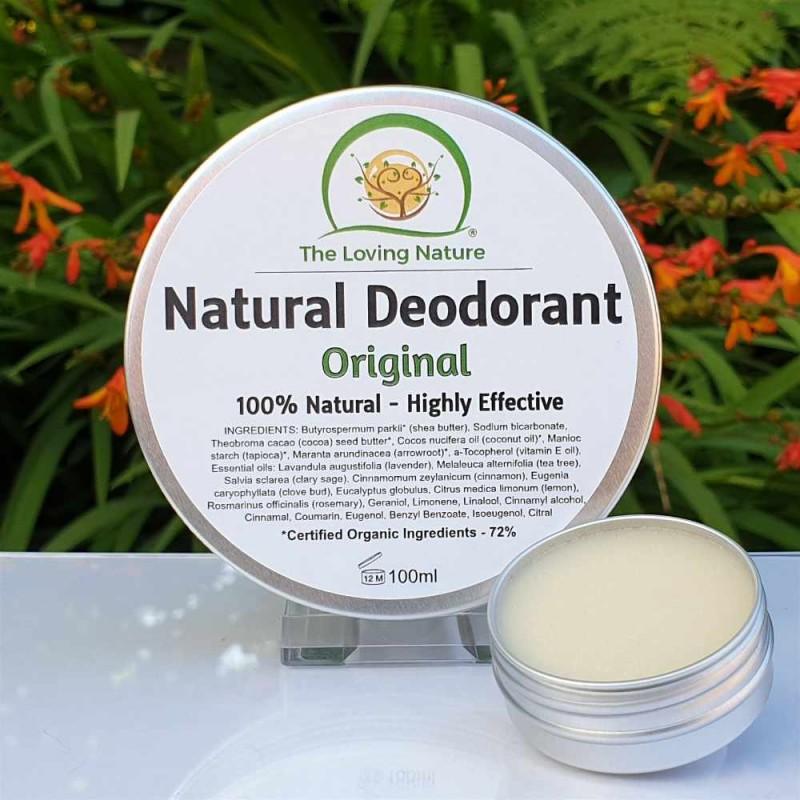Natural Deodorant Original