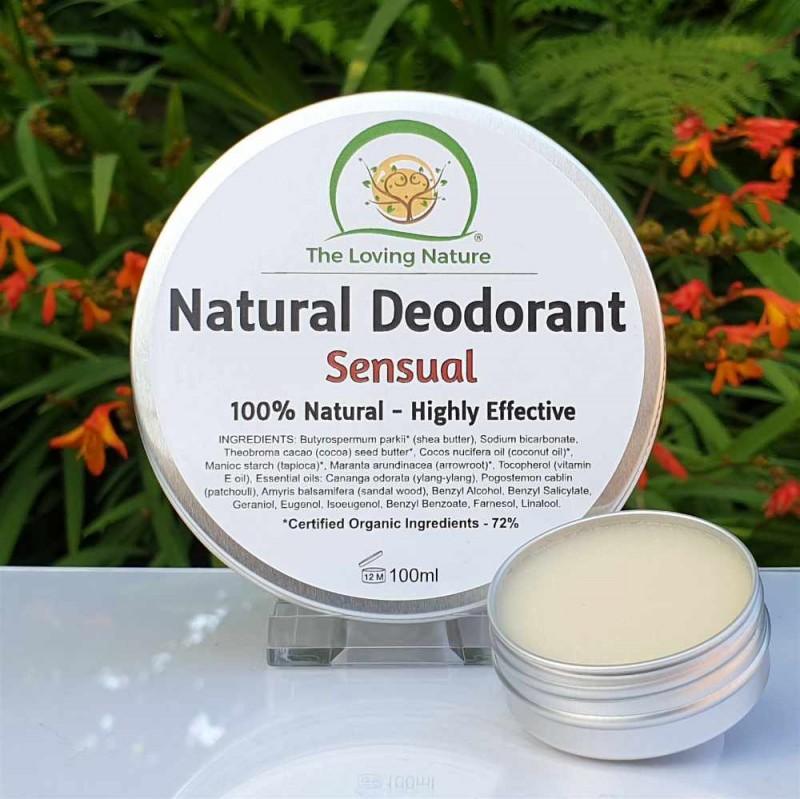 Natural Deodorant Sensual