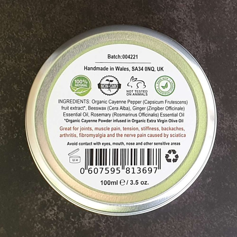 Cayenne Cream - Warming Muscle & Joint Rub 3