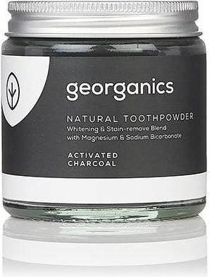 Poudre dentifrice naturelle au charbon actif