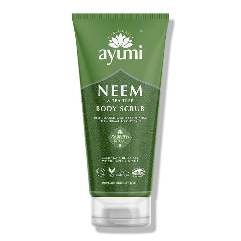 Neem & Tea Tree Body Scrub 200ml