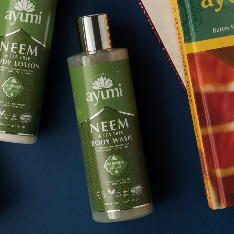 Neem & Tea Tree Body Wash 250ml 3