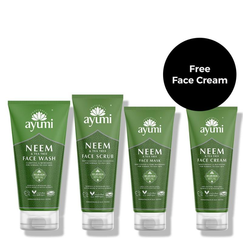 Neem & Tea Tree Complete Skincare Set 475ml