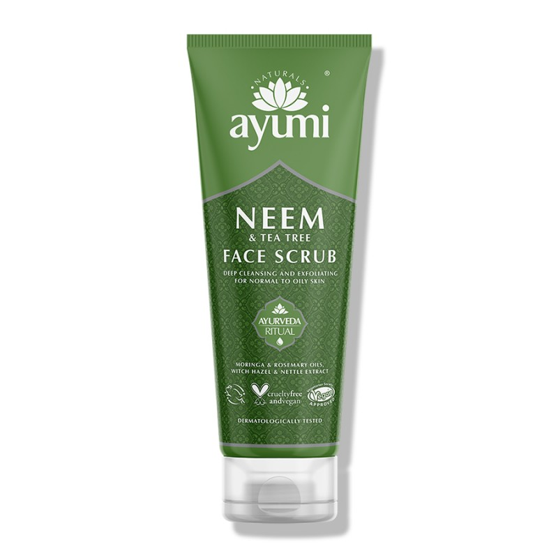 Neem & Tea Tree Face Scrub 125ml