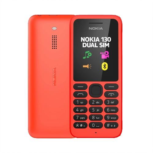 Nokia 130 Red | Unlocked (Dual SIM) | Grade B
