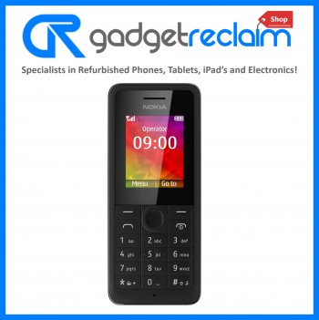Nokia 206 Black | O2 Network | Grade B