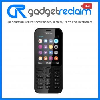 Nokia 222 Black | Unlocked | Grade B