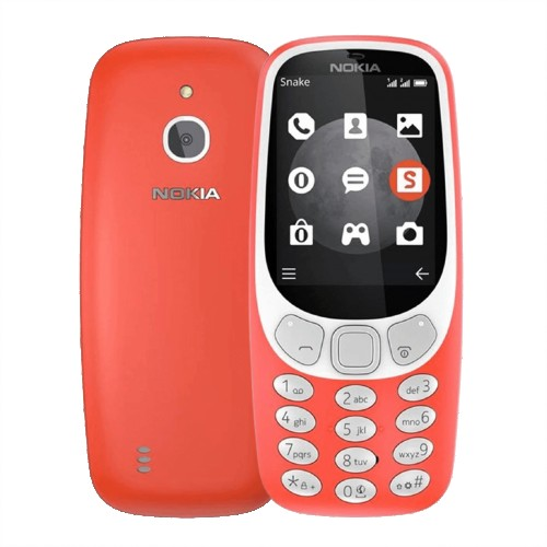 Nokia 3310 3G (2017) Warm Red | Unlocked | Grade B