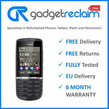 Nokia Asha 300 Graphite | O2 Network | Grade B