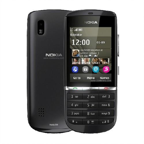 Nokia Asha 300 Graphite | Three Network | Grade C