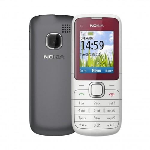 Nokia C1-01 - Red | Vodafone | Grade C