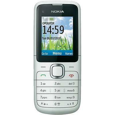Nokia C1-01 - Silver | Unlocked | Grade B