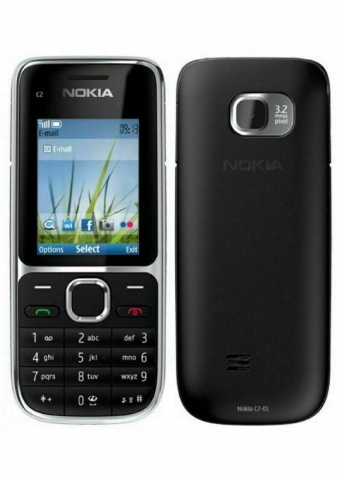 Nokia C2-01 - Black | Orange Network | Grade B