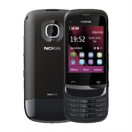 Nokia C2-03 Black | EE (Dual Sim) | Grade B