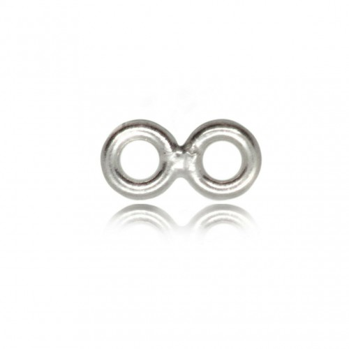 Number 8 Jump ring -4mm and 4mm- 1mm thickness