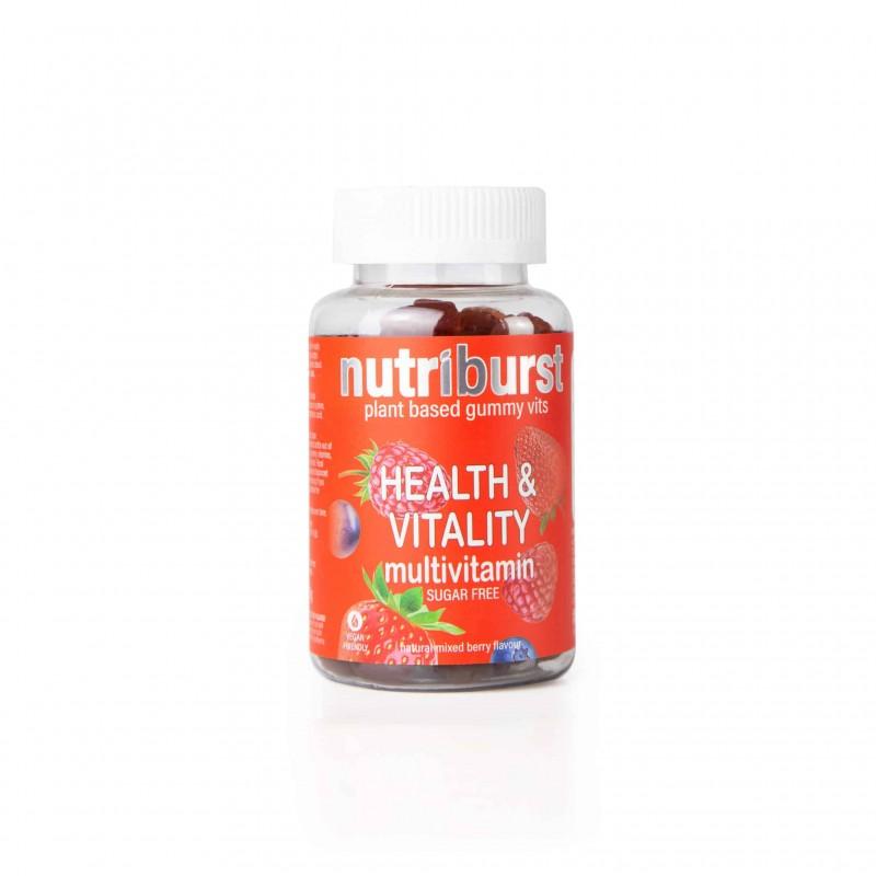 Nutriburst Health & Vitality Gummies 1