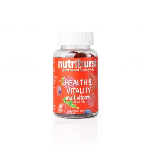 Nutriburst Health & Vitality Gummies