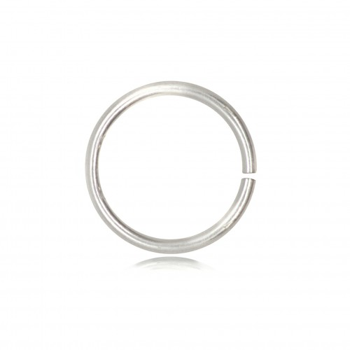 Open Jump Rings in 925 Sterling Silver - 6mm Diameter - 0.9mm Thickness