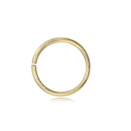 Open Jump Rings in Gold Vermeil - 4mm Diameter - 0.9mm Thickness