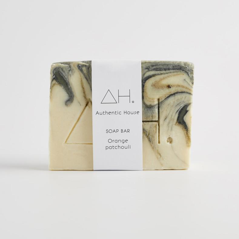 Orange patchouli soap 2