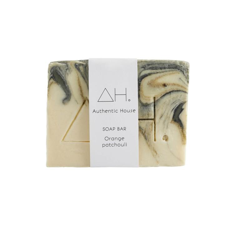 Orange patchouli soap 3