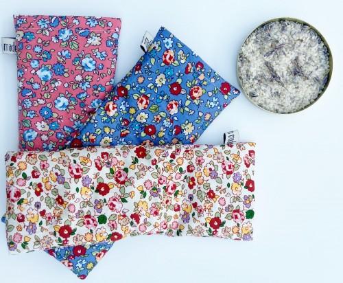 Organic Lavender Eye Pillow, Heat-Pack